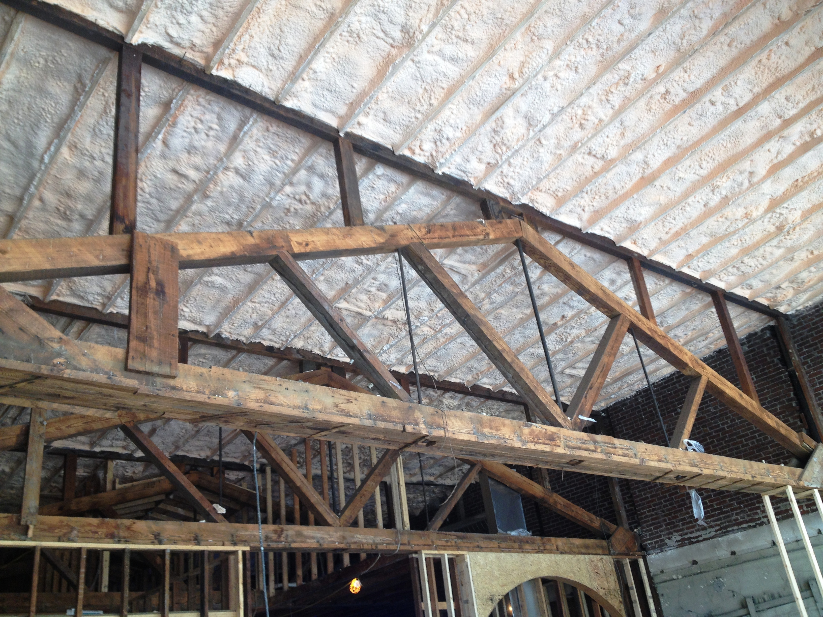 Ceiling insulation spray foam benefits